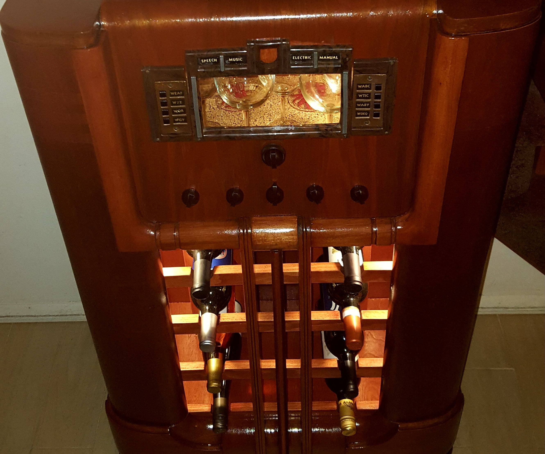 1938 RCA Radio Wine Bar
