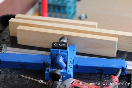 Cut Boards to Size and Drill Pocket Holes