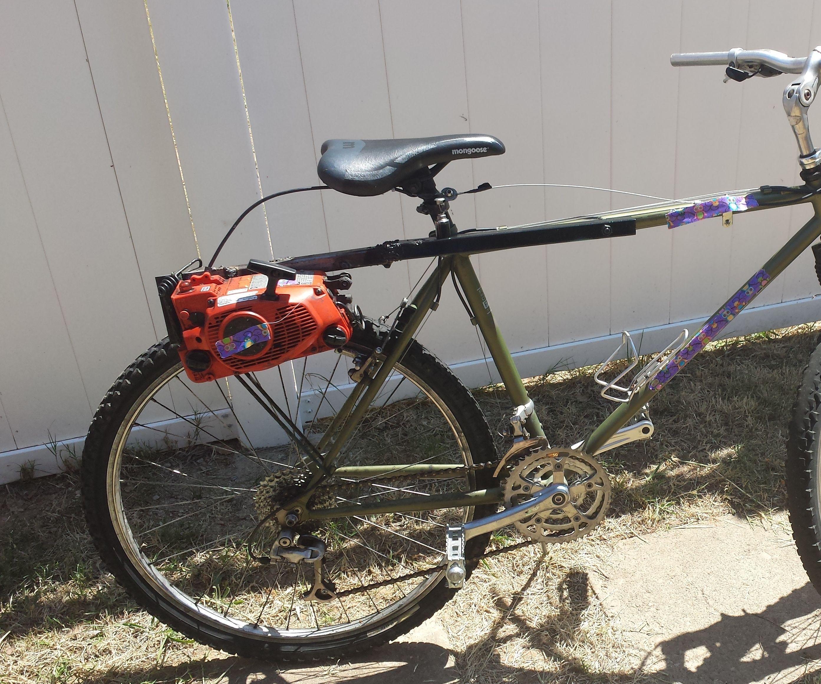 Chainsaw Bike!!!!