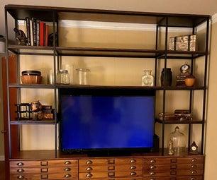 Ikea Tarva + Vittsjo电视中心黑客