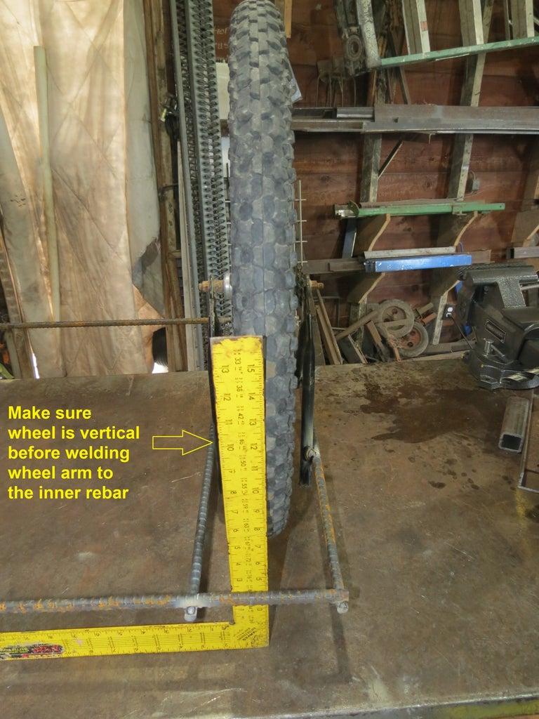 Make Sure Wheel Is Vertical