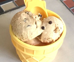 Homemade Creamy Coffee Ice Cream - No Machine