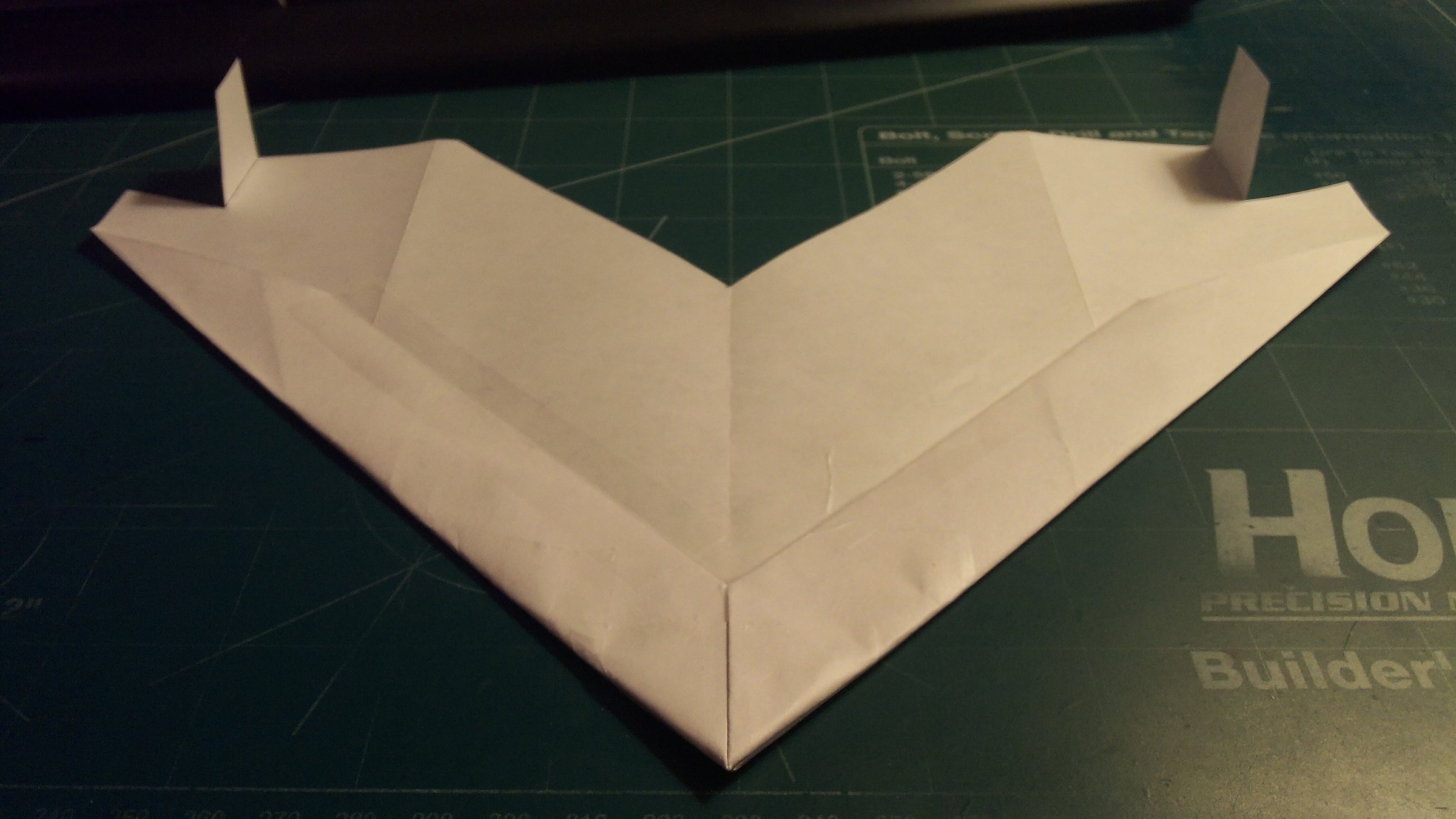 How To Make The OmniStreak Paper Airplane