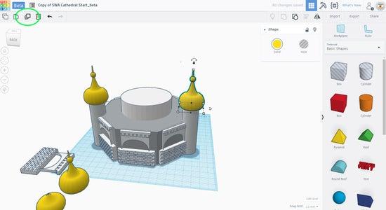 Continue Adding the Domes