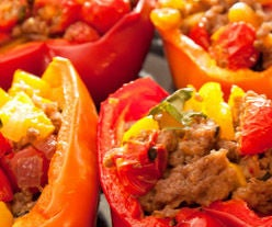 Grab and Go Stuffed Peppers