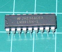 Using the LM3915 Logarithmic Dot/Bar Display Driver IC