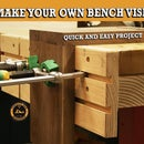 DIY Woodworking Bench Vise - Quick and Easy Shop Project
