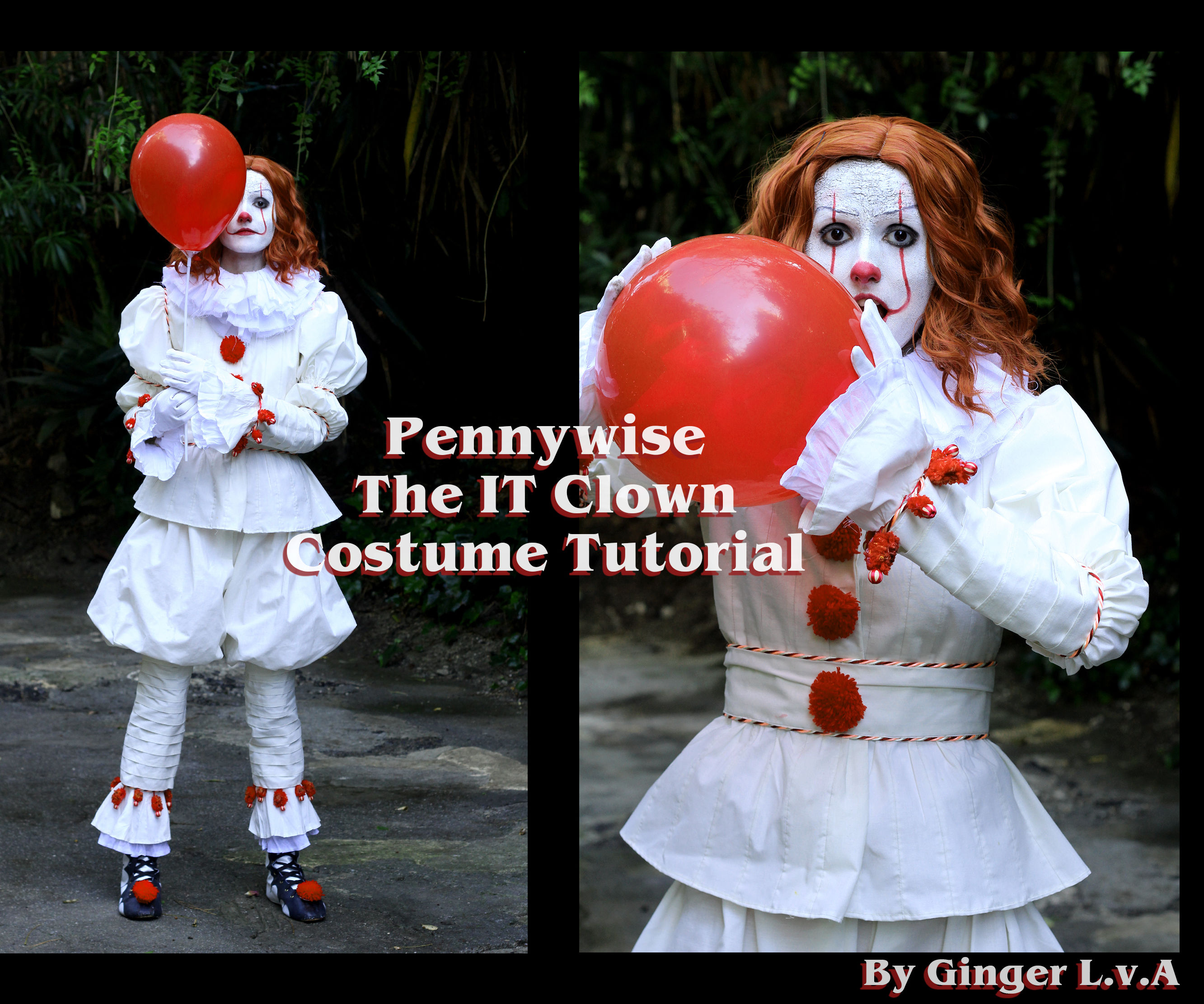 Pennywise the IT Clown: Full Costume + Shoes + Make-up Tutorial