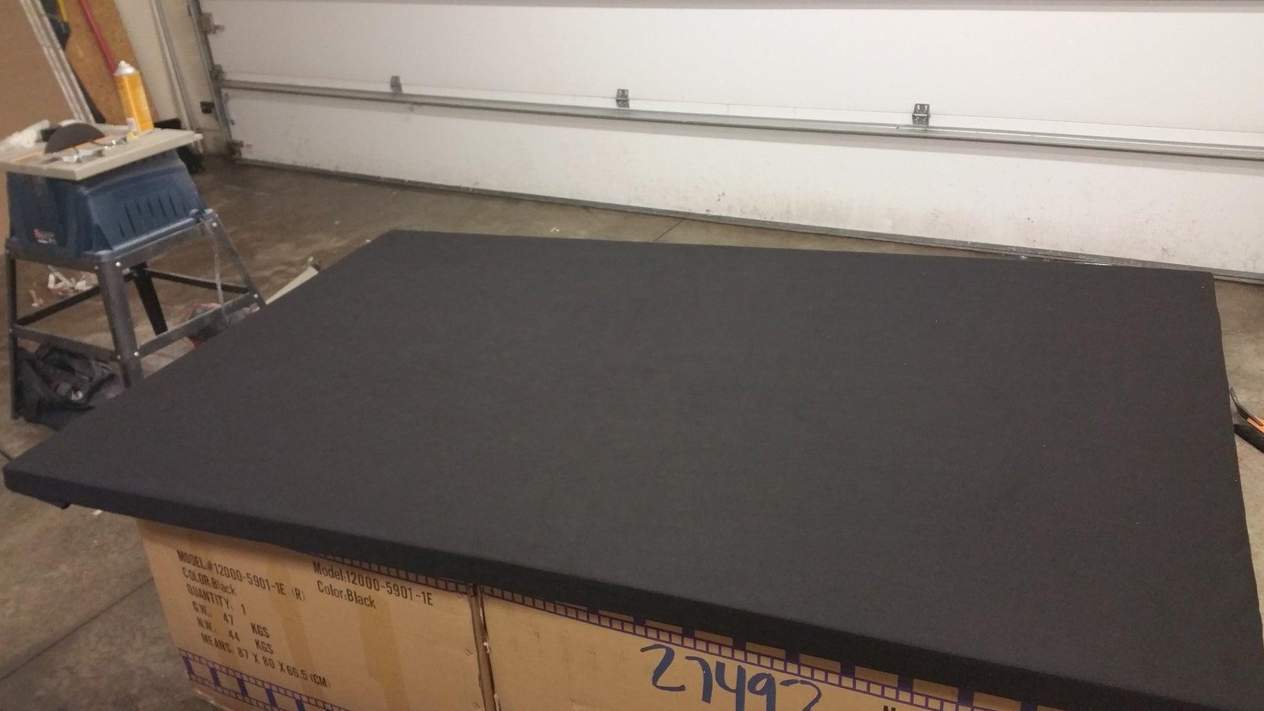 Wrap the Panels With Felt