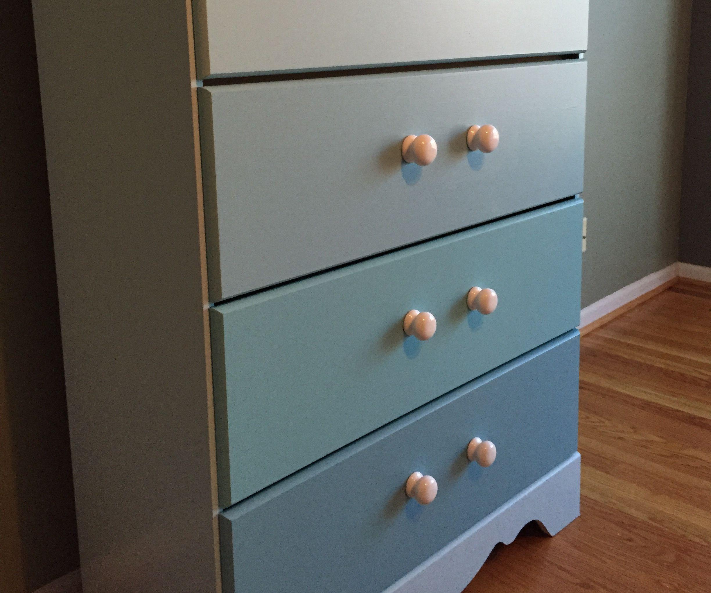 Refurbished laminate dresser