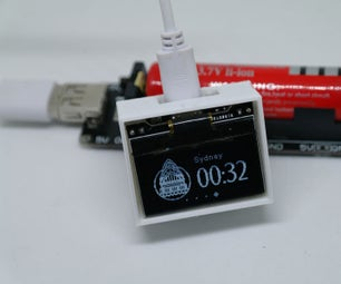 Make a WIFI World Clock