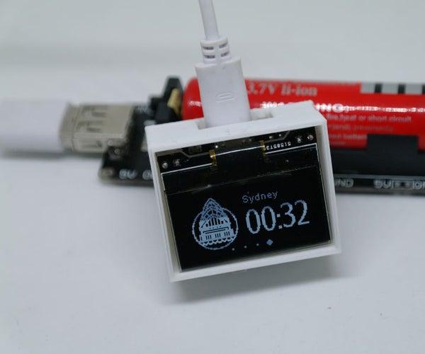 Make a WIFI World Clock