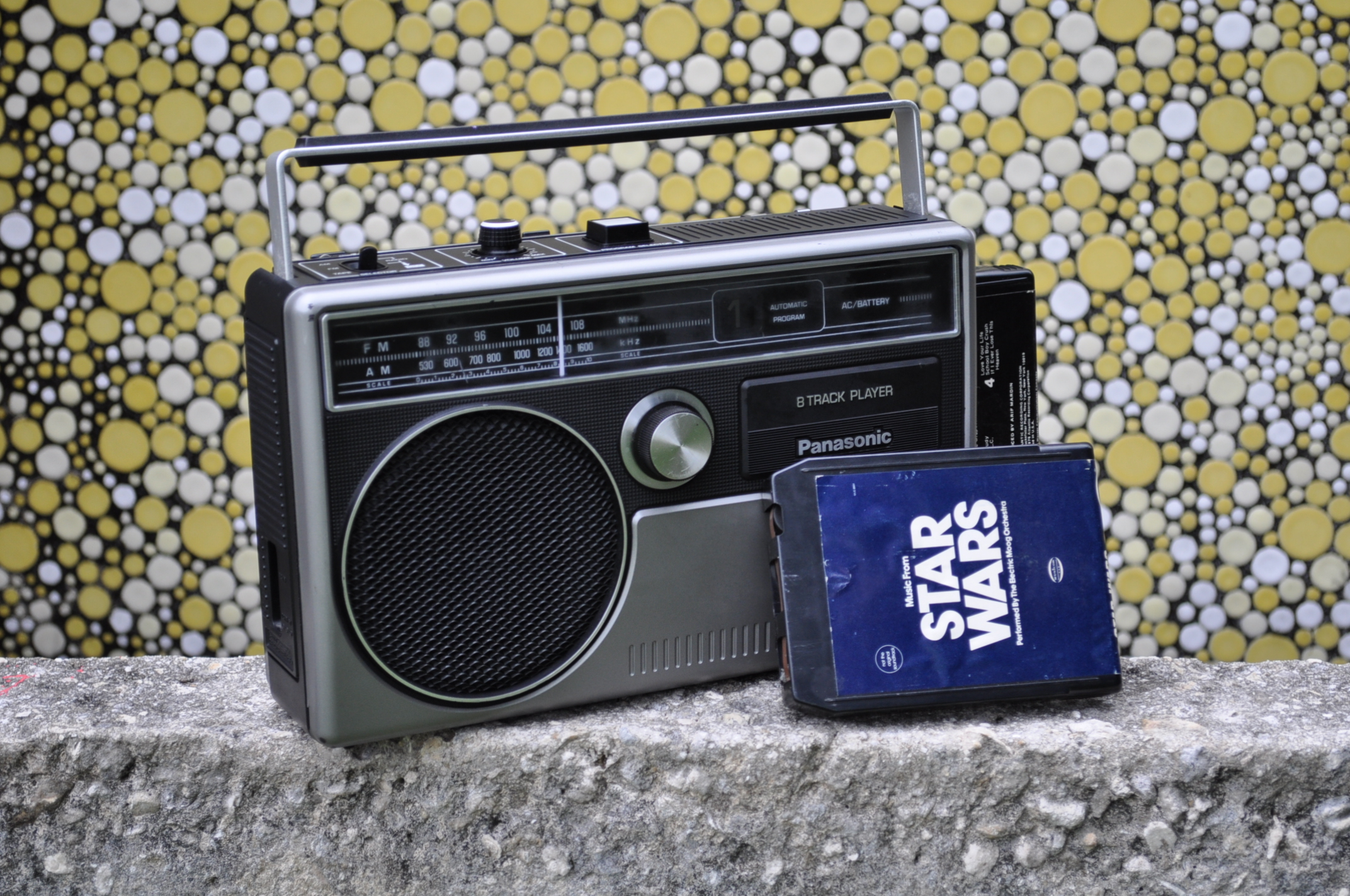 How to revive a portable 8-Track tape player
