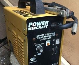 MIG Welder Repair and Mods