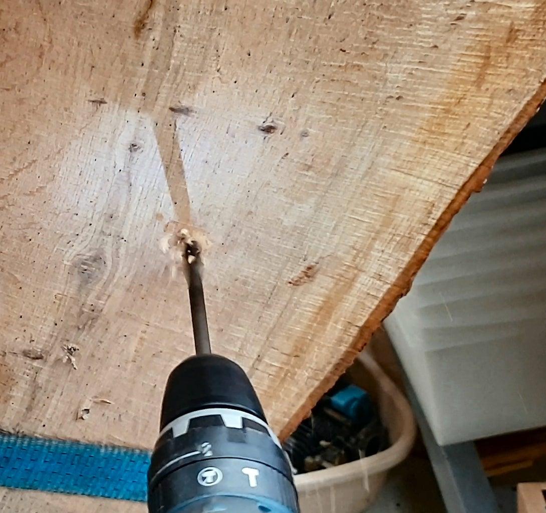 Fix With Decking Screws