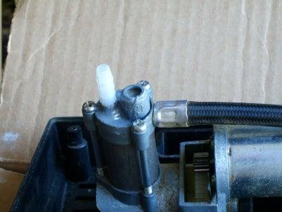 Convert a Tire Inflator-type Air Compressor Into a Vacuum Pump