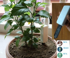 Plant Care Device (2 Years From 2 AAA Battery!!!)