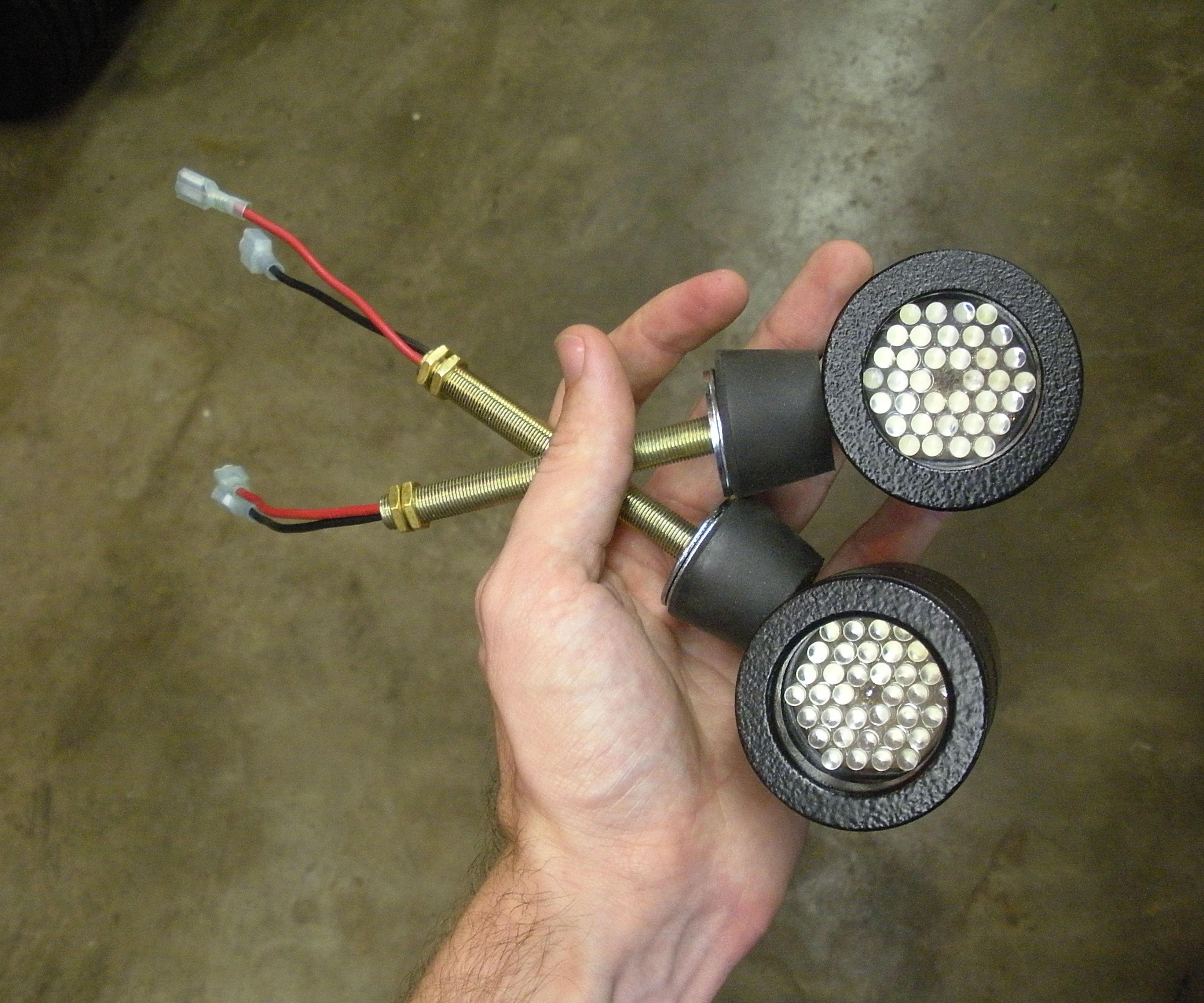 LED mini-spotlights