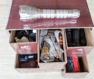 DIY - Storage Box With Cardboard