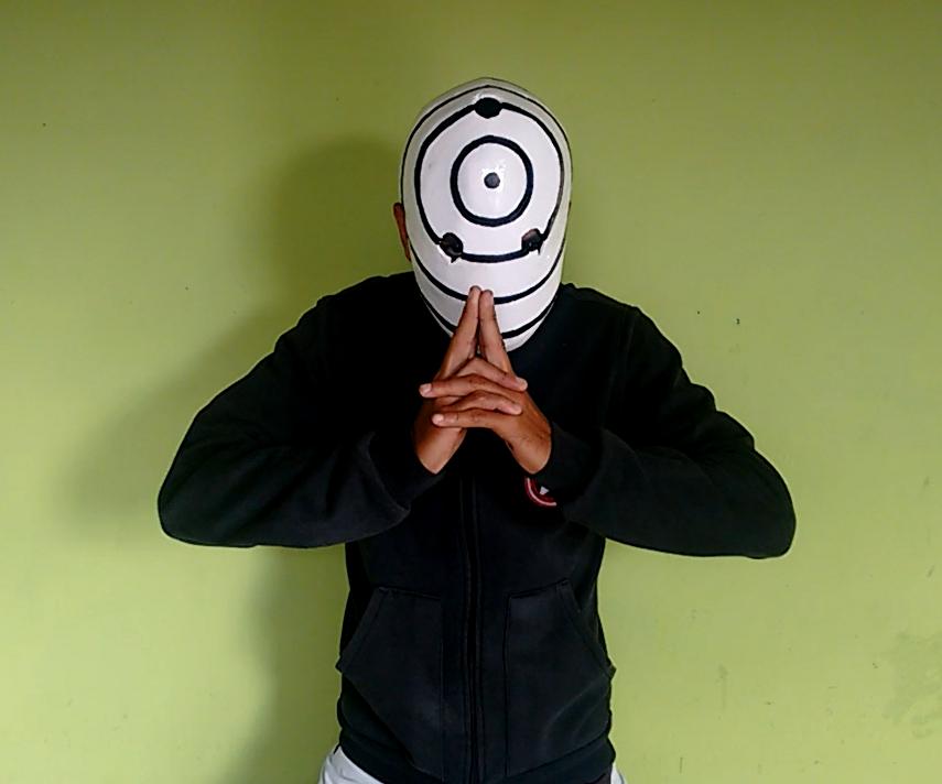 war mask Obito Uchiha (naruto)