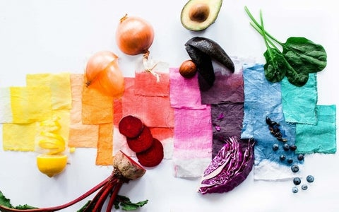 Use Natural Dyes & Select Your Colors
