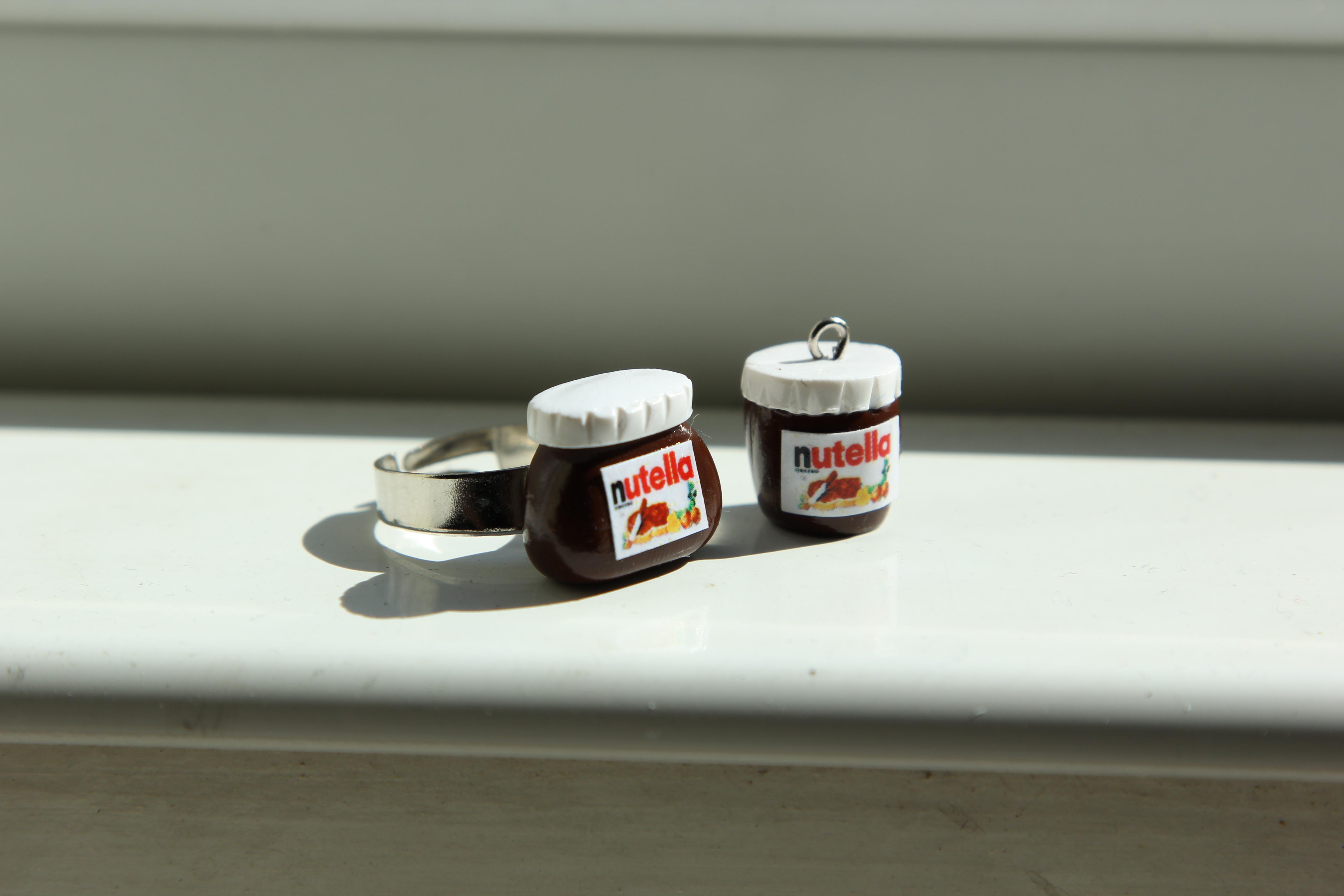 Polymer clay Nutella jar tutorial