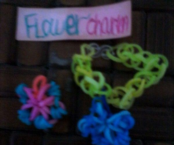Rainbow Loom: Flower Charm