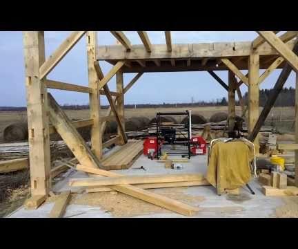 A Timber Frame Barn Build