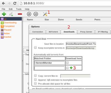 Setup Torrent Auto-download and Download Auto-sort