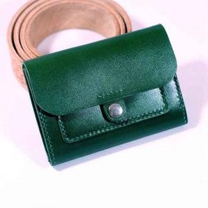 Leather Short Wallet