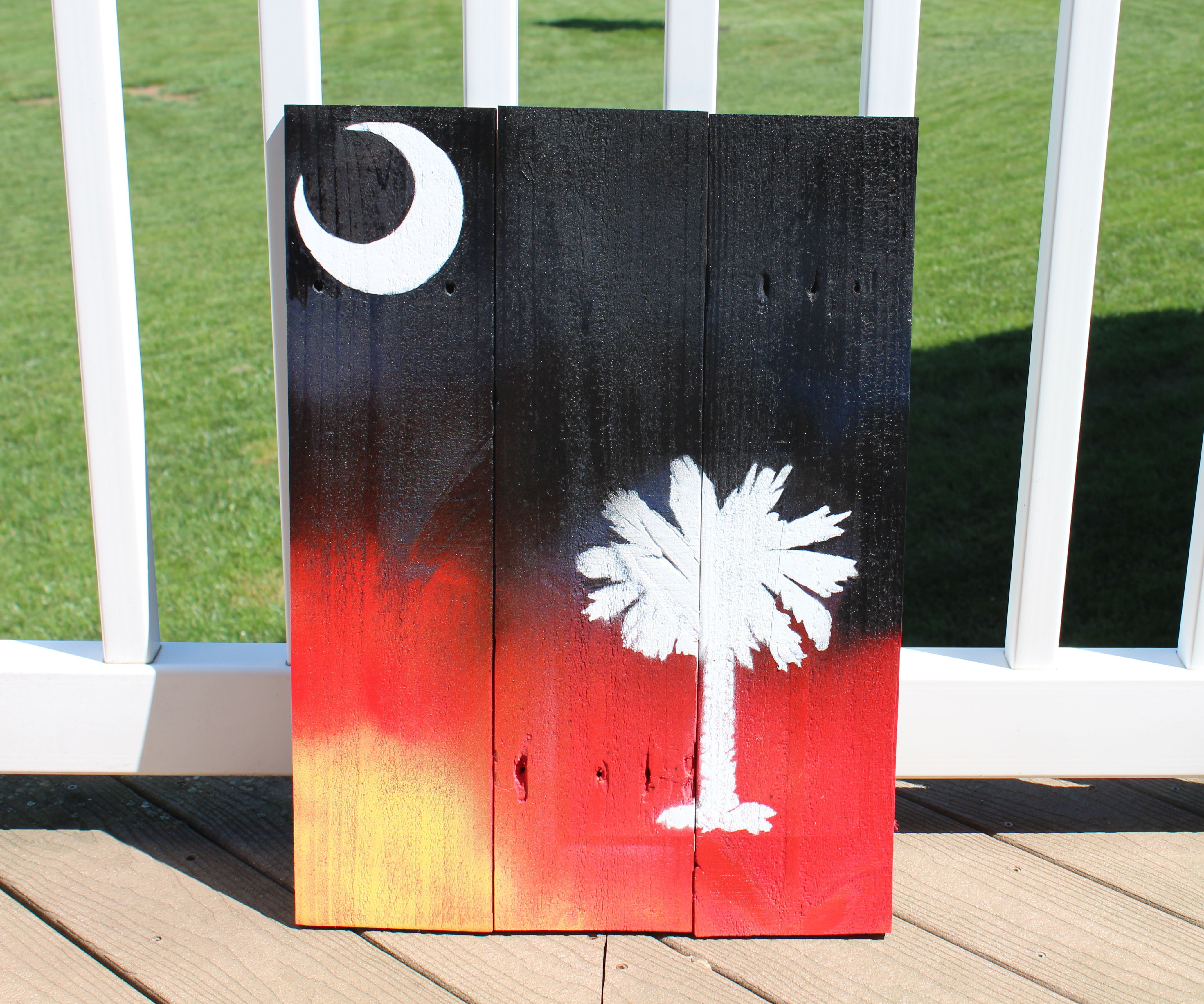 Pallet Wood Painting
