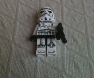 How to Make a Lego Guy From Star Wars