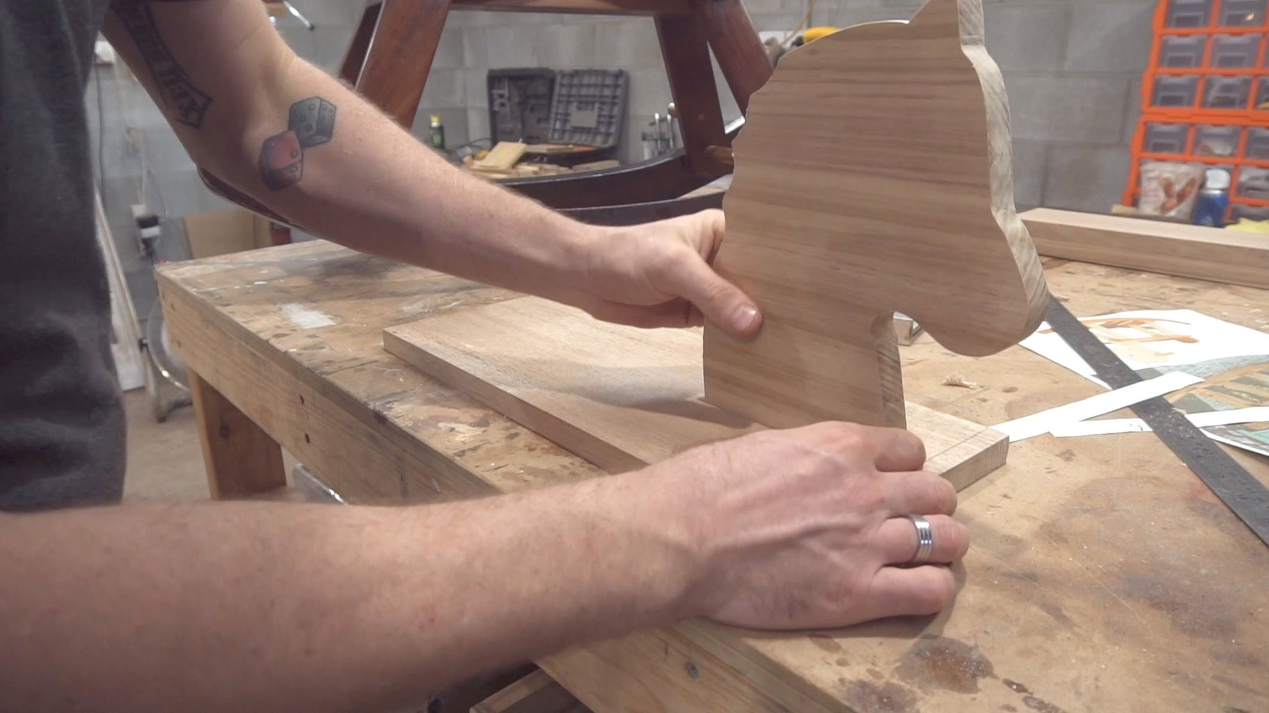 Creating the Head and Seat