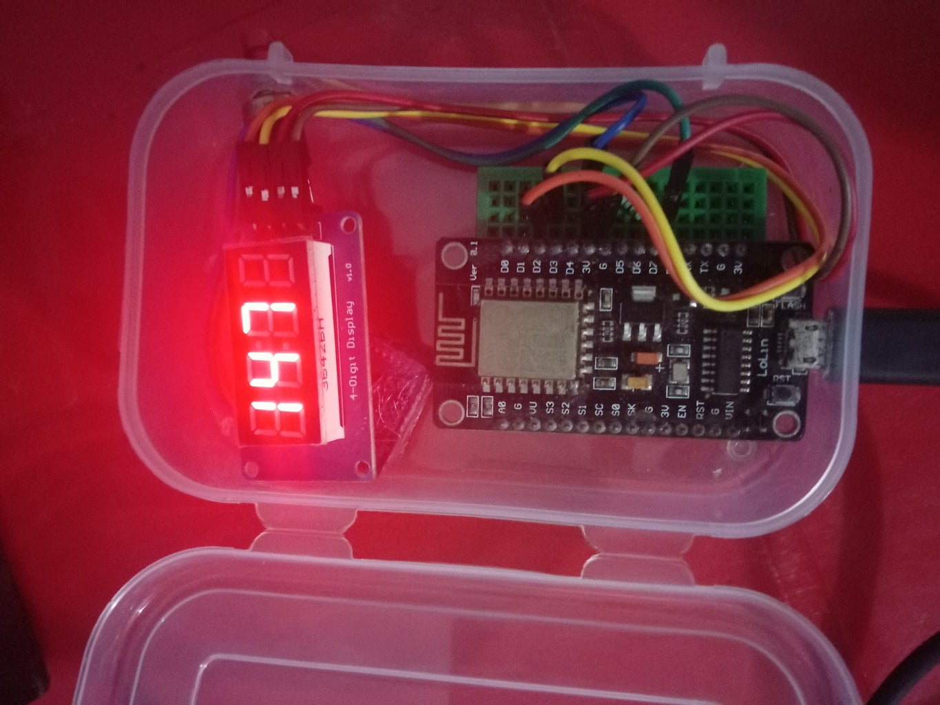 WIFI Display for Production Management