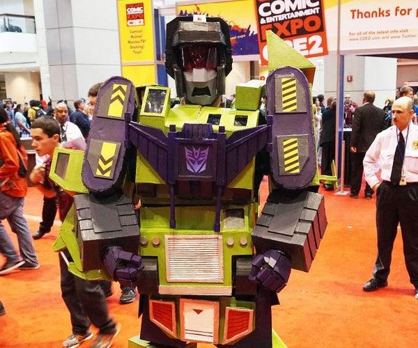 "How to Make a Transformers: ""Devastator"" Costume"