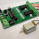 Bidirectional control of 4 DC motors using ATtiny Microcontroller and L293D