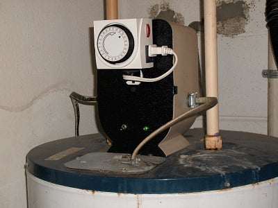 DIY Electric Water Heater Timer