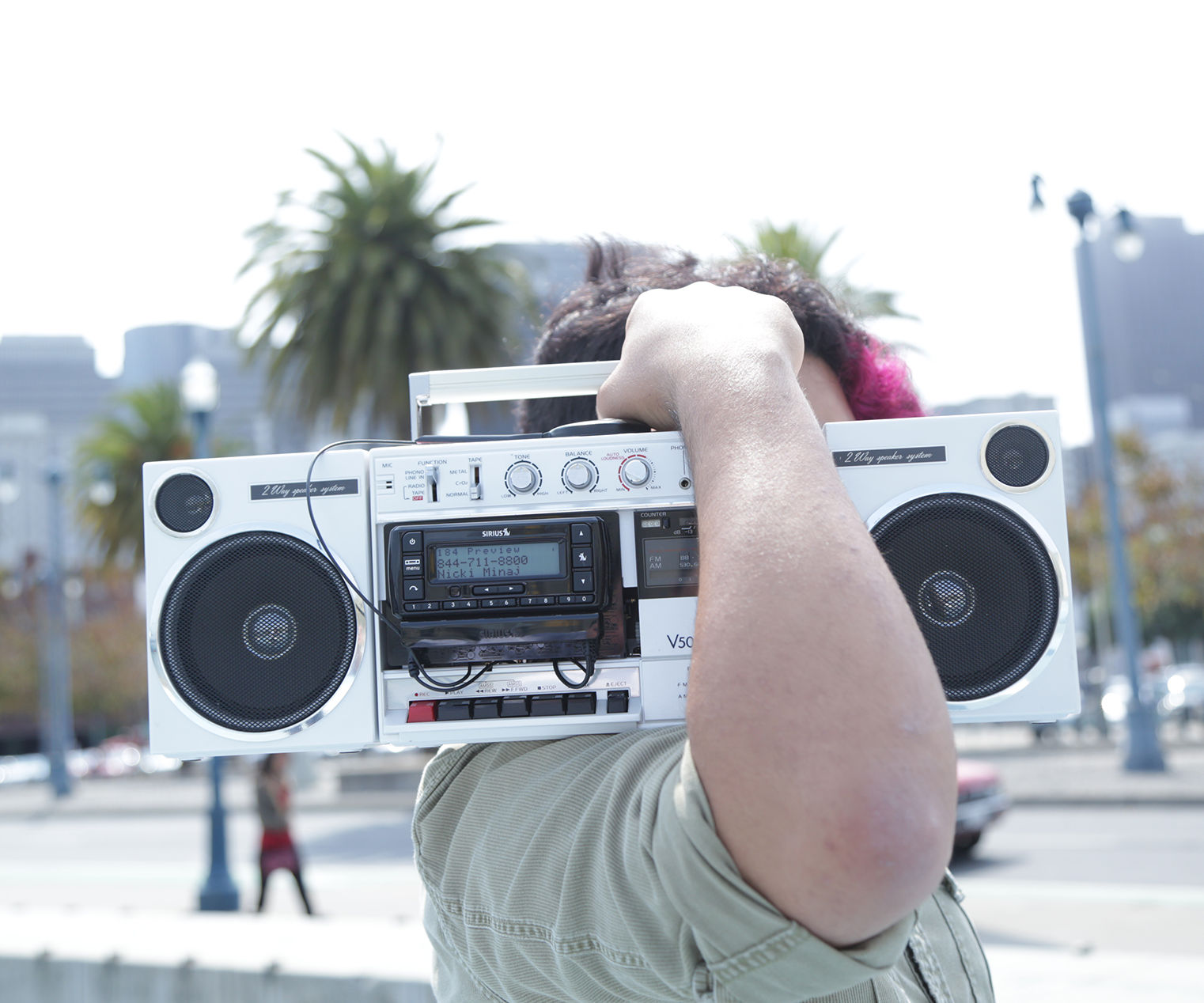 Satellite Radio Boombox