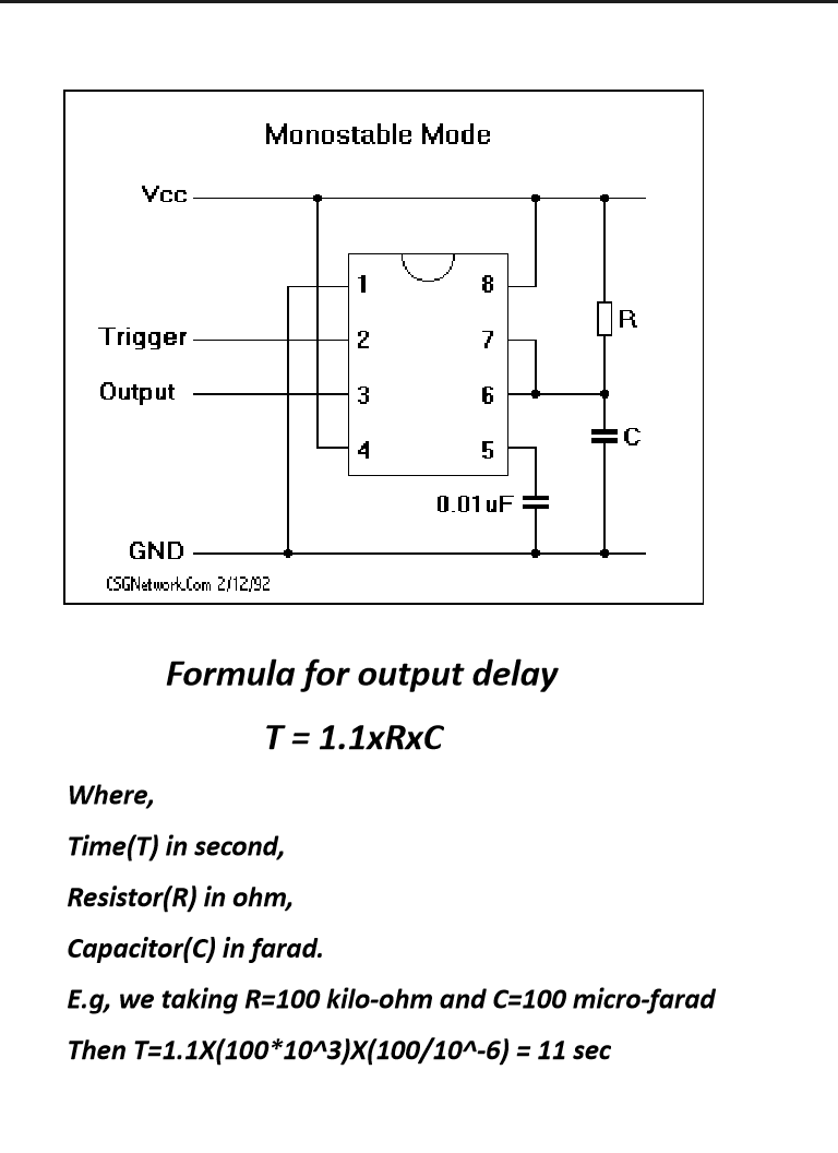 How to Be Set Output Delay Time