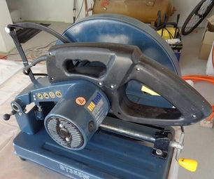 Repair an Old Iron Cutter Saw