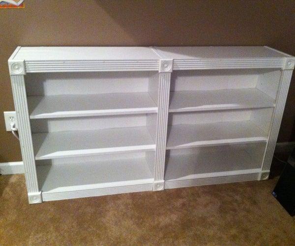 Upgrading a Cheap Bookshelf