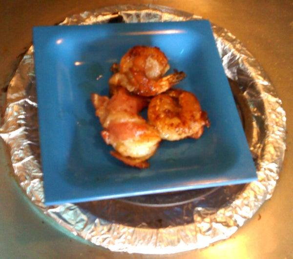 Bacony Shrimpy Goodness