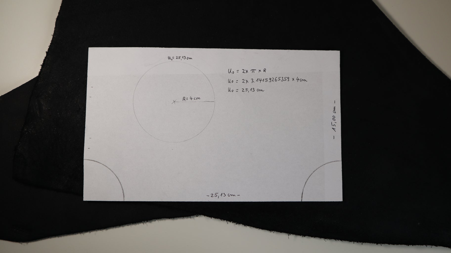 The Pattern, Measurements and Cutting