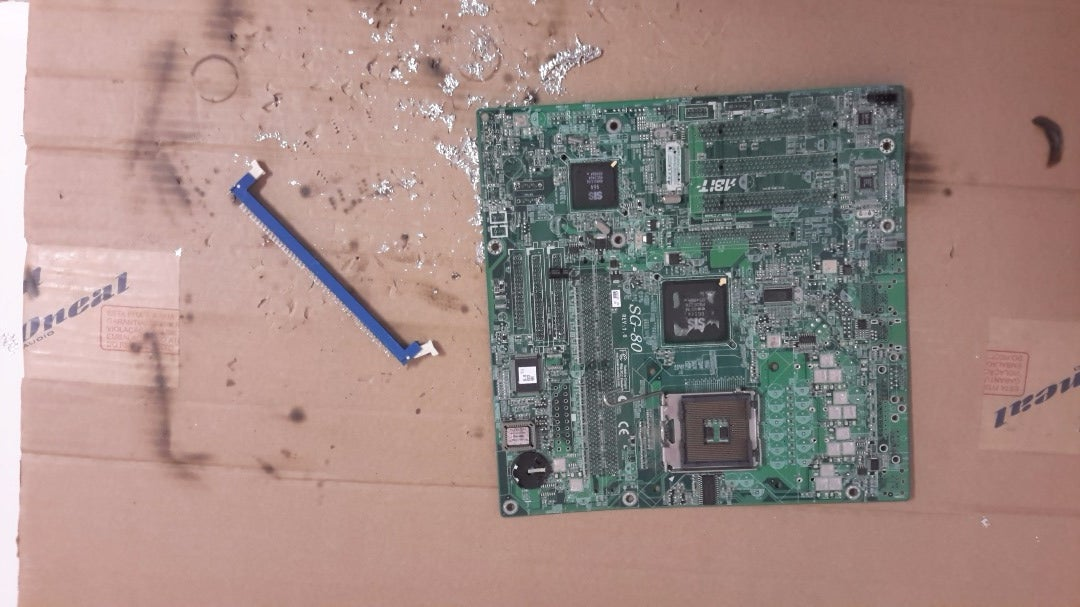 Cleaning the Motherboard's.