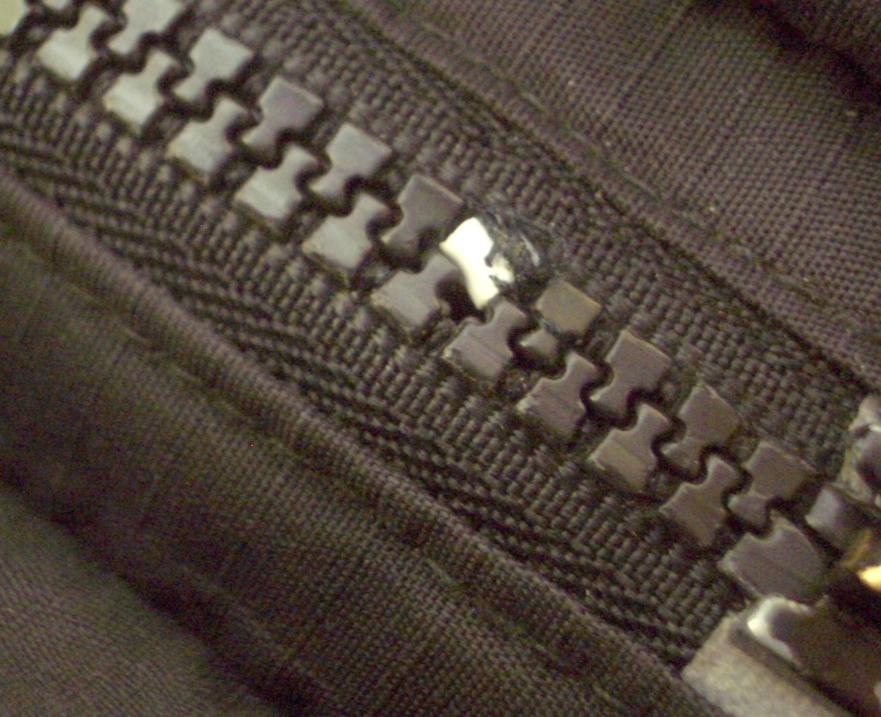 Fix a Zip With A Broken Tooth