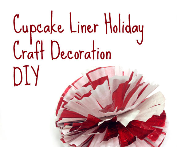 cupcake liner decoration