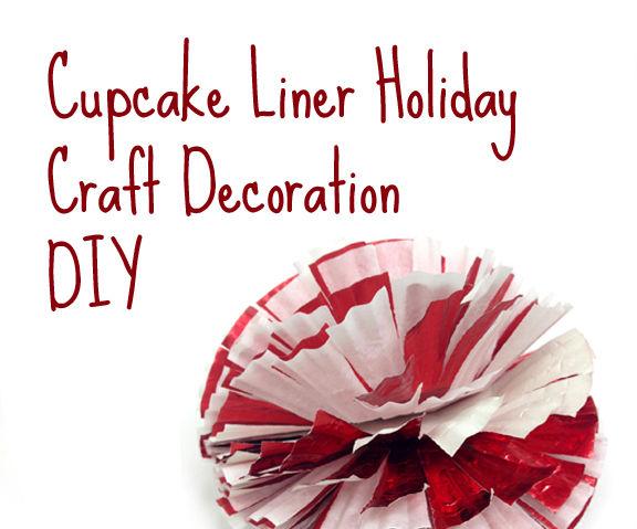 cupcake liner decoration