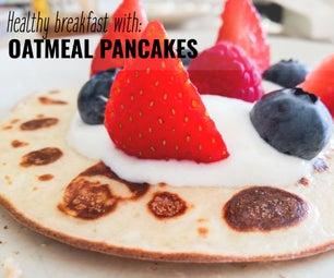 Oatmeal Pancakes: a Healthy Sunday Breakfast