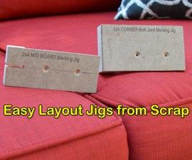 2x4 Butt Joint Marking Jigs