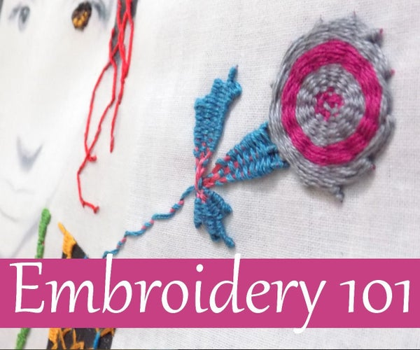 Embroidery 101: Freestyle Weaving